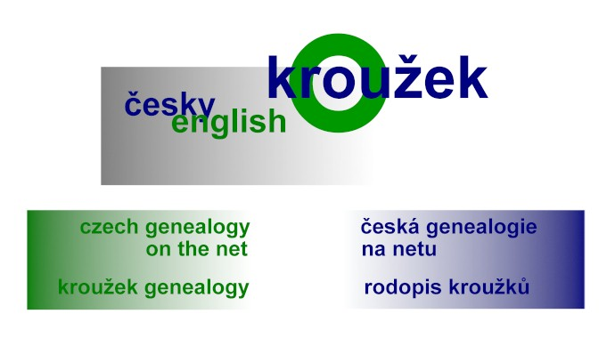 Vitejte! Toto je brana k rodopisu Krouzku a ceskym rodopisnym zdrojum na Internetu! - Welcome! This is the gate to Krouzek's Genealogy and to the Czech genealogy resources on the net!